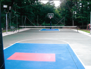 Sport Court Installation in Michigan
