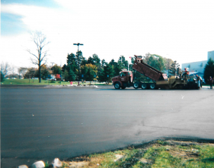 Commercial Asphalt Job