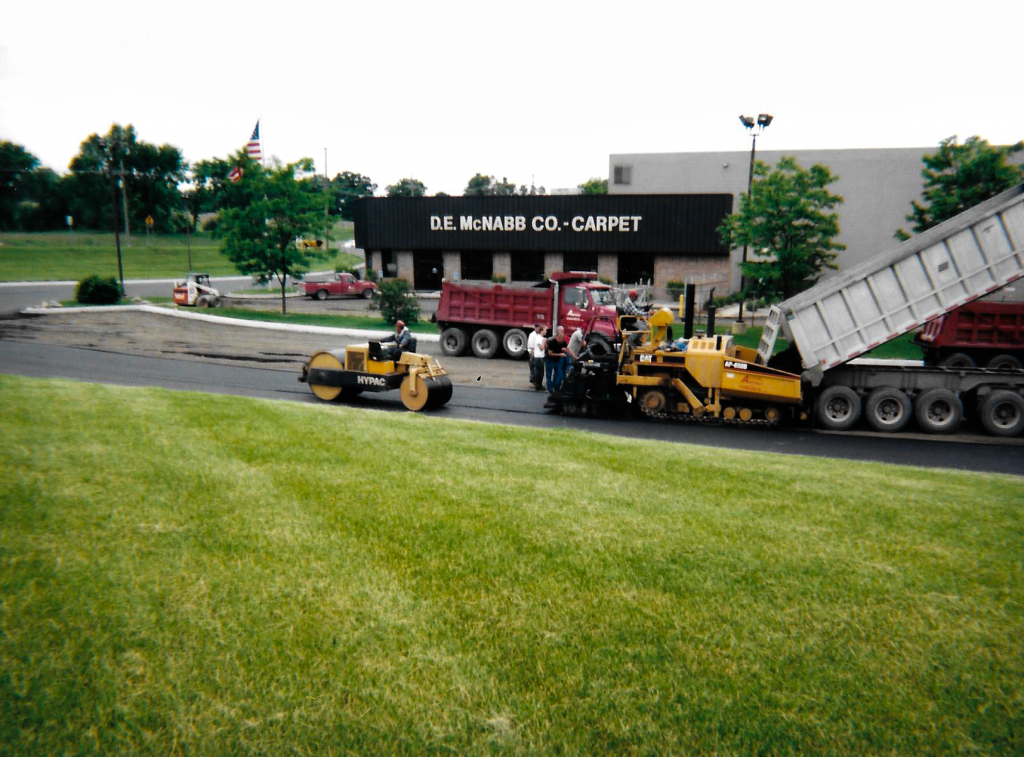 "Paving 2 "" leveling course"